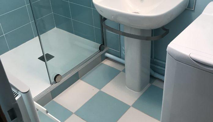 Salle de bain Turquoise III