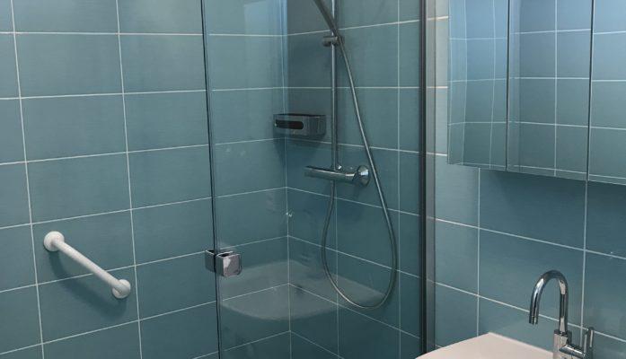 Salle de bain turquoise II